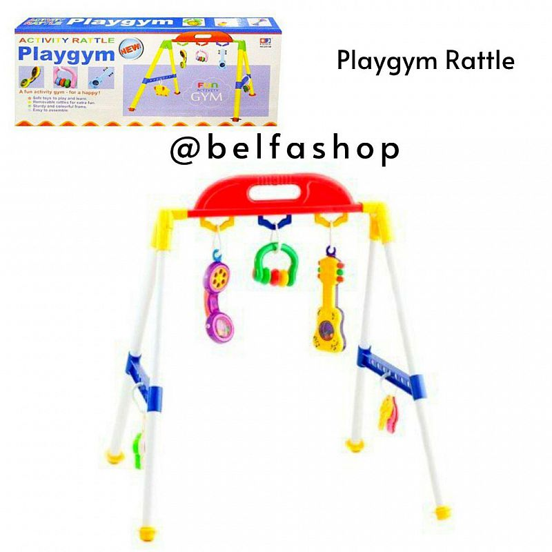 Mainan Anak Rattle Activity Playgym Rattle Bayi