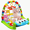 Baby Playgym Musical Set Musik Bayi Playmat Matras Mainan Piano